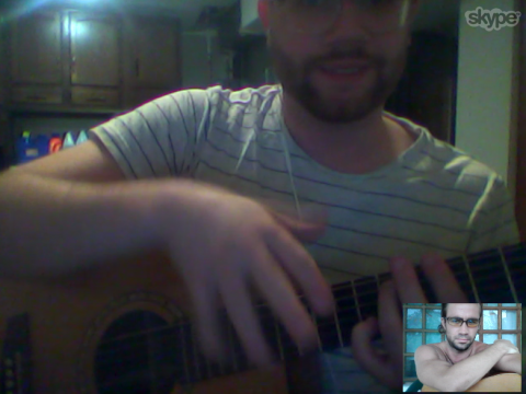 First Guitar Lesson