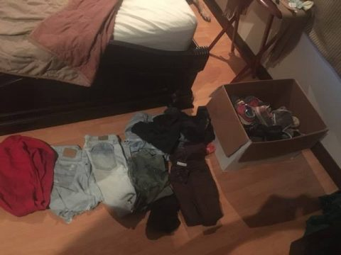 Preparing for Clothing Donation